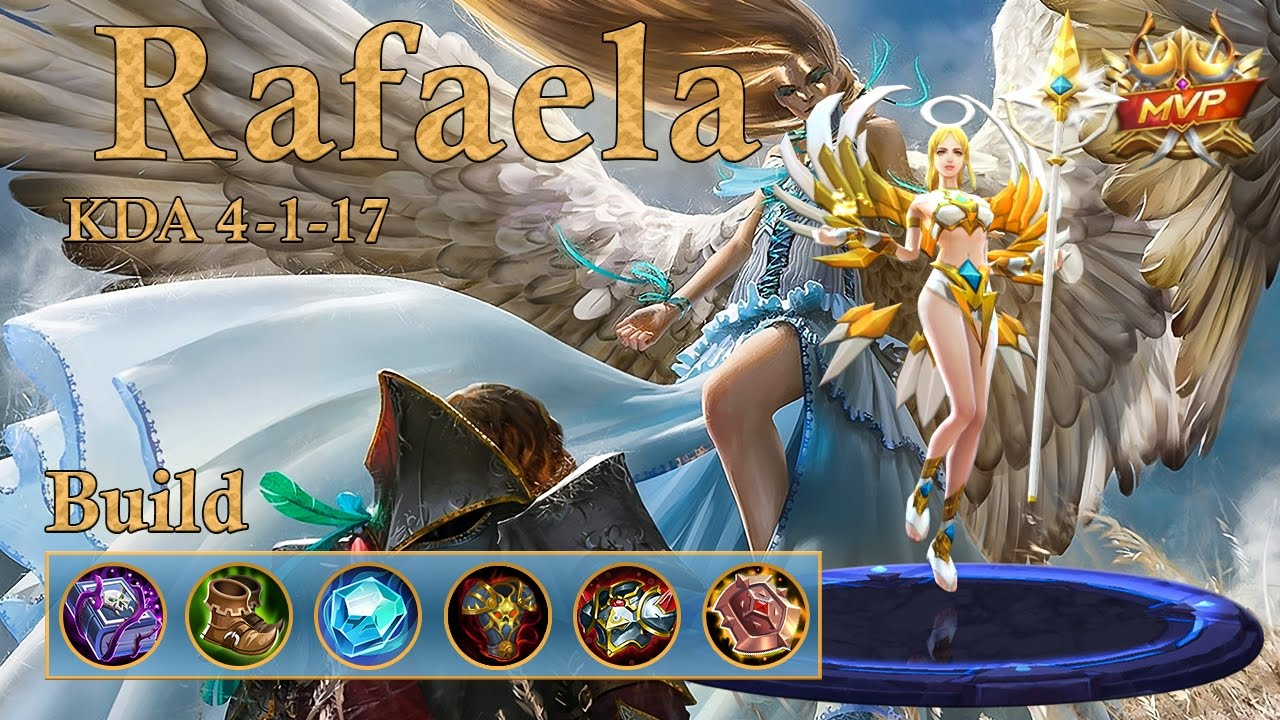 Mobile Legends Rafaela MVP Tank Support On Ranked The