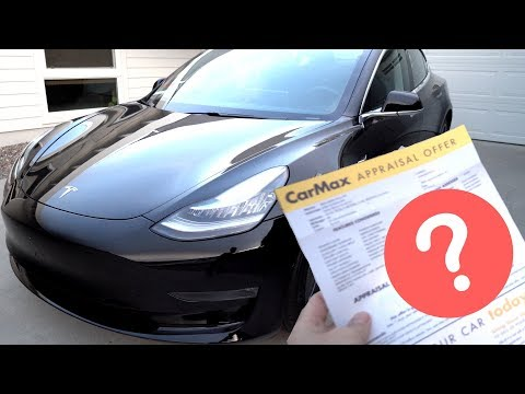 Taking My $60,000 Tesla Model 3 to CarMax - Guess How Much They Offered?