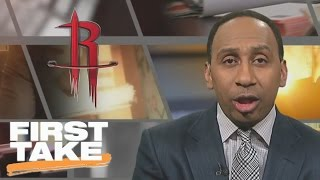 Stephen A. Smith: Rockets Will Be Too Much For OKC | First Take | April 13, 2017