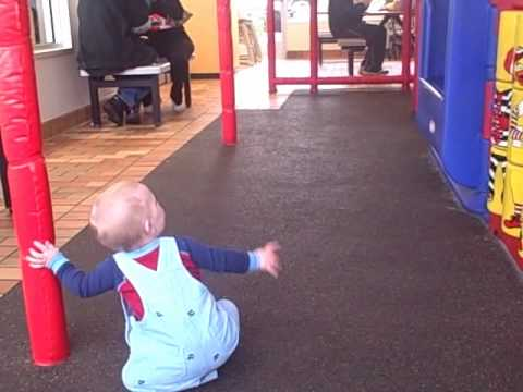 Eli at a McDonald's Playplace