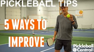 Five Tips to Improve your Pickleball Game