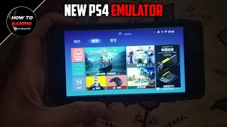 ||NEW PS4 EMULATOR PLAY ALL UNRELEASED GAMES||DOWNLOAD PLAYSTATION 4 EMULATOR IN ANDROID||APK+OBB||