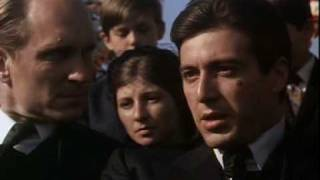 Michael Corleone sensational role played by Alpacino!