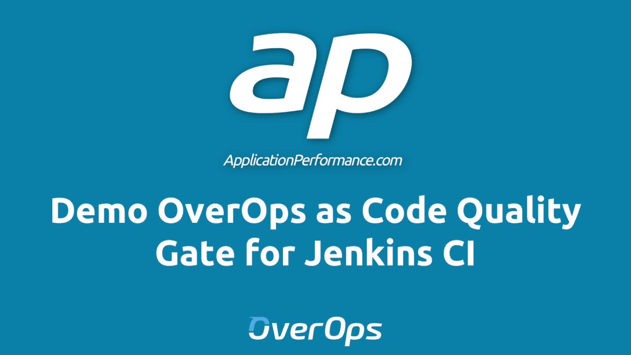 Jenkins CI Quality Gate with OverOps