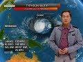 Bagyo sa silangan ng Mindanao, lumakas pa at nasa typhoon category na Mp3