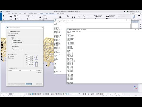 Mapping IFC File Properties in Tekla Structures