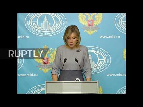 Briefing by Maria Zakharova, November 17, 2016