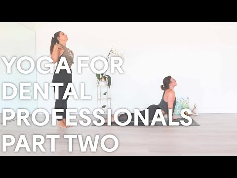 Yoga For Dental Professionals Part Two: Hips and Back