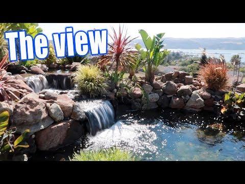 Million Dollar View With A KOI POND!