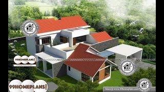 Indian House Design By 99HOMEPLANS COM [ Esp: M022 ]