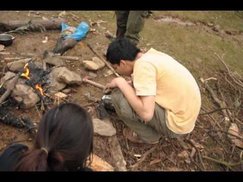 Nướng thịt gà bọc giấy bạc tại Hàm Lợn