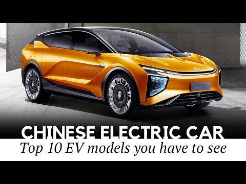 10 New Electric Cars from China: EVs with the Best Value for the Money