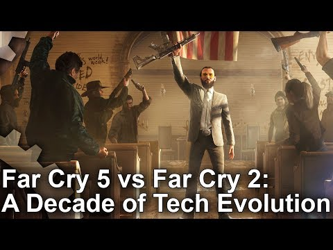 Is Far Cry 2's tech really more advanced than Far Cry 5's
