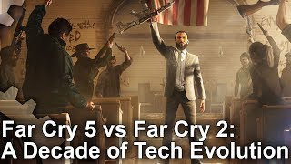 Far Cry 5 vs Far Cry 2 Engine Analysis: A Decade of Tech Evolution