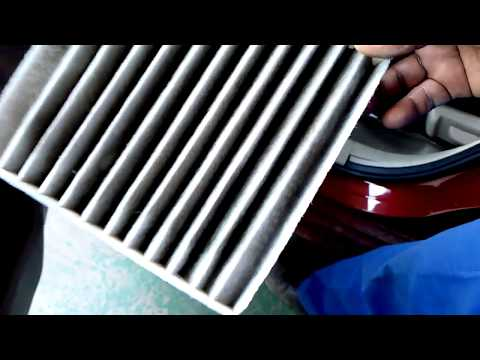 How to clean AC air filter Swift Dzire