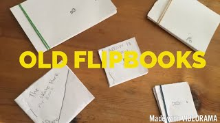 MY OLD FLIPBOOK COLLECTION!!!