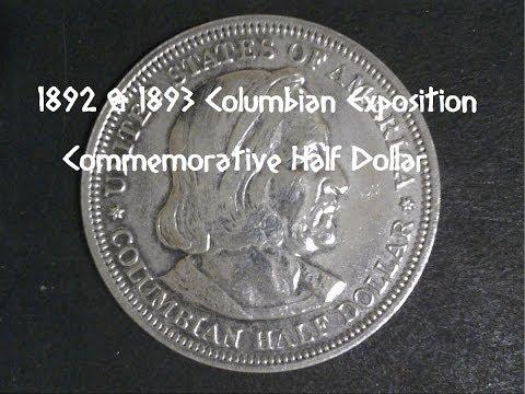 1892~1893 Columbian Exposition Commemorative Half Dollar