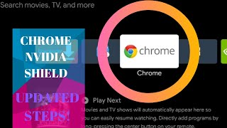 install Chrome On NVidia Shield - UPDATED STEPS, Plus ES File Explorer and Opera Install Tutorial