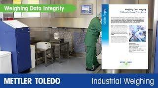 How to Improve Weighing Data Integrity - METTLER TOLEDO Industrial - en