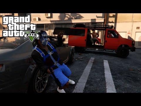 GTA 5 Crips & Bloods Part 19 [HD] RockStar Editor