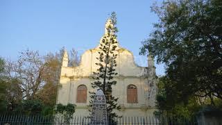 Church in sunset birds flying 1 | Sock Video | Stock Video | Qonvey