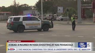 Mass shooting on NAS Pensacola