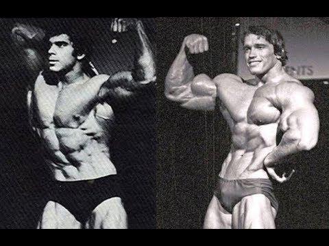 Arnold Schwarzenegger vs  Lou Ferrigno @ 1974 Mr  Olympia : Real Challenge  or Hype?
