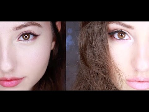 Korean VS American Style MakeUp♡