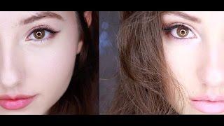 Korean VS American Style MakeUp♡
