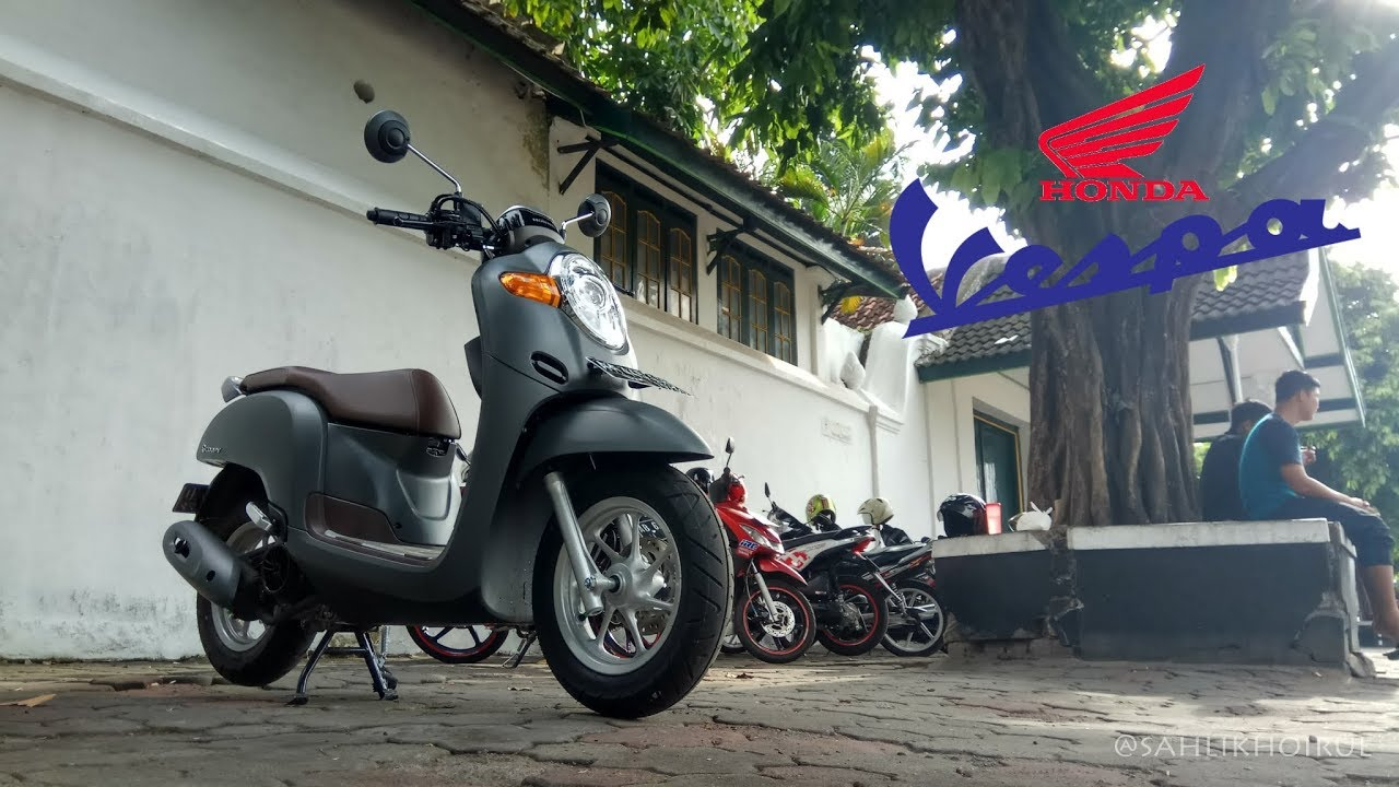Scoopystory Part 2 Modifikasi All New Scoopy 2017 Full Matte