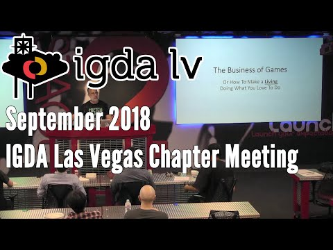 IGDA LV Sept 18 Meeting feat. Larry Kuperman of Nightdive Studios & Yoshiha Tsuchida of EQ Studios