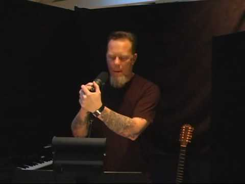 James Hetfield singing All Nightmare Long