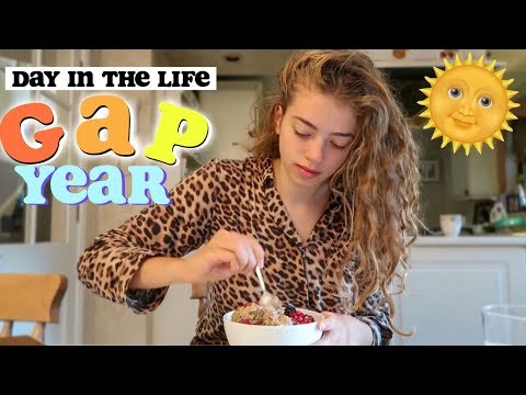 *Realistic* Morning Routine & GAP YEAR Day in the Life 2018 🌞