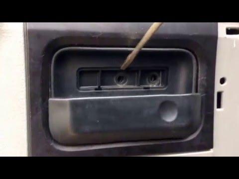 How To Remove Door Panels 04 08 F 150 Work Truck Edition Hand Crank Windows Youtube