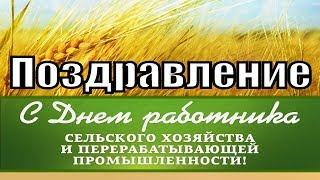 С днем работников сельского хозяйства 2018 поздравление день работника поздравления