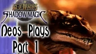 Strategy Time! Age of Wonders: Shadow Magic Part 1 | Neos Plays