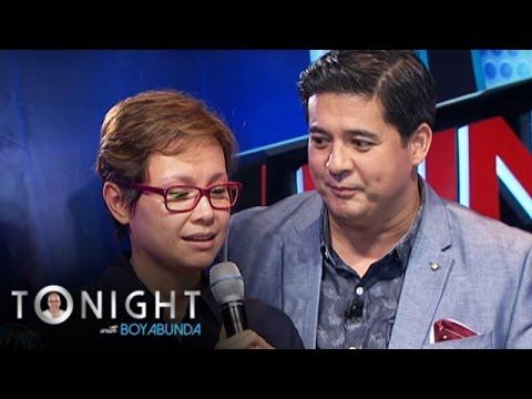 TWBA: Lea recalls 'kilig' moment with Aga