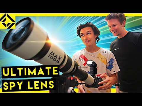 Testing $160 Mega Zoom Lens | 2,600mm