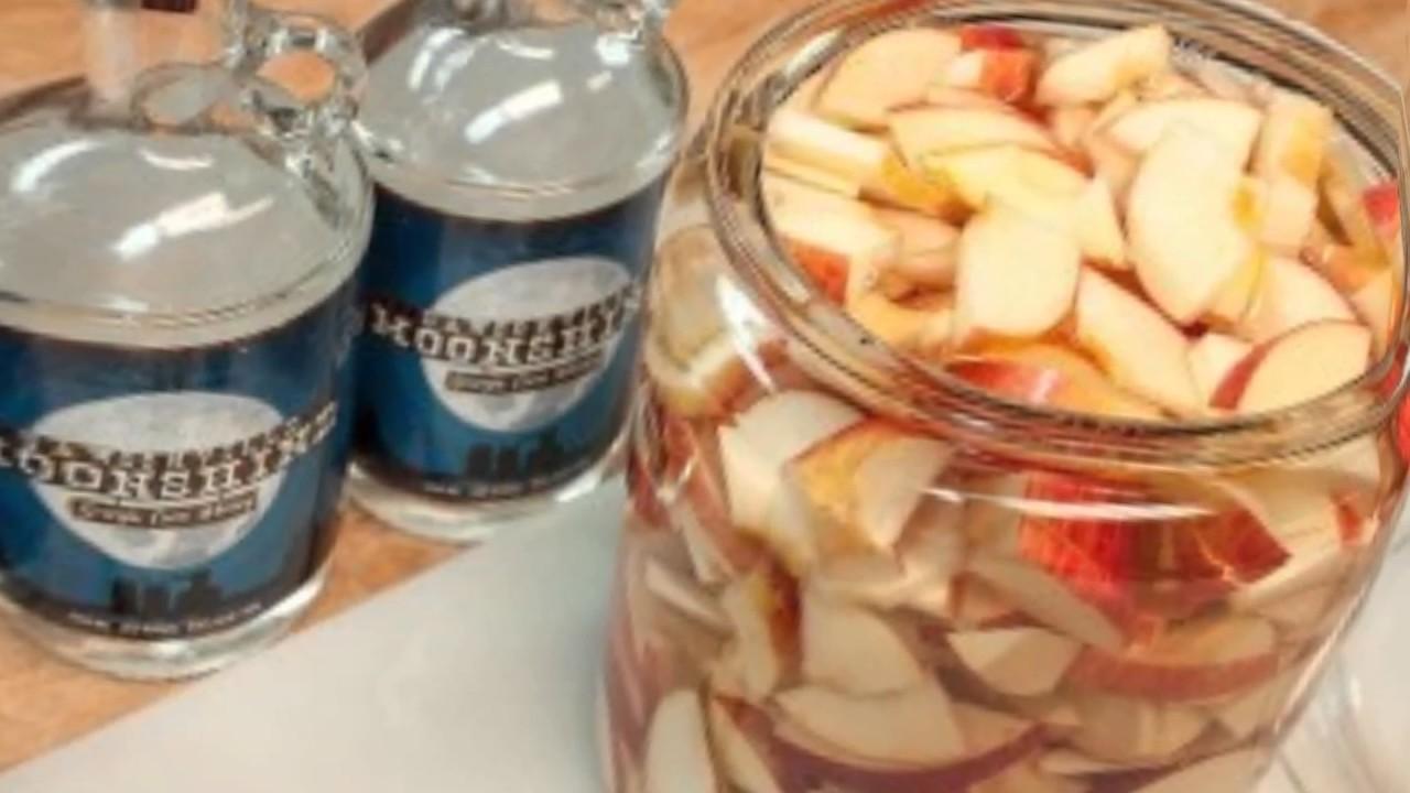 как приготовить брагу на самогон из яблок