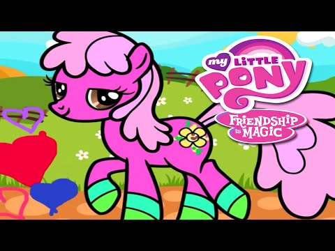 💫 My Little Pony Friendship is Magic Coloring Book Creative Game for Children