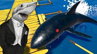 ДВЕ АКУЛЫ НА МЕНЯ ОДНОГО ► Raft 1.05 multiplayer |1|