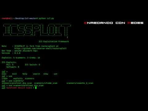 Escaneo Profinet-DCP con ICSSPLOIT