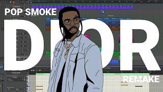 "How ""DIOR"" was made by Pop Smoke (IAMM Remake)"