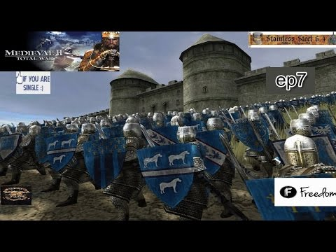 Stainless Steel 6.4 (M2TW Mod)  Kingdom of France - EP 7 HD 1080p
