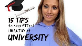 15 Tips To Keep Fit and Healthy At University -  Ready For Freshers Week