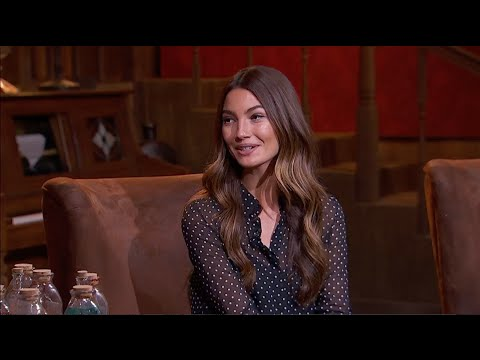 Victoria's Secret Angel Lily Aldridge Joins The RES in Studio - 1/30/15