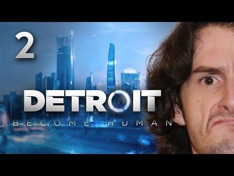 LE DRAMA EST TOTAL !!! -Detroit : Become Human- Ep.2 avec Bob Lennon