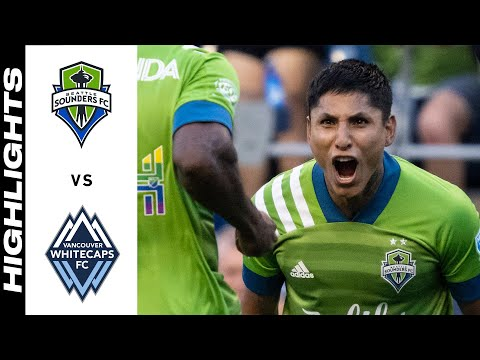 Seattle Sounders Vancouver Whitecaps Goals And Highlights