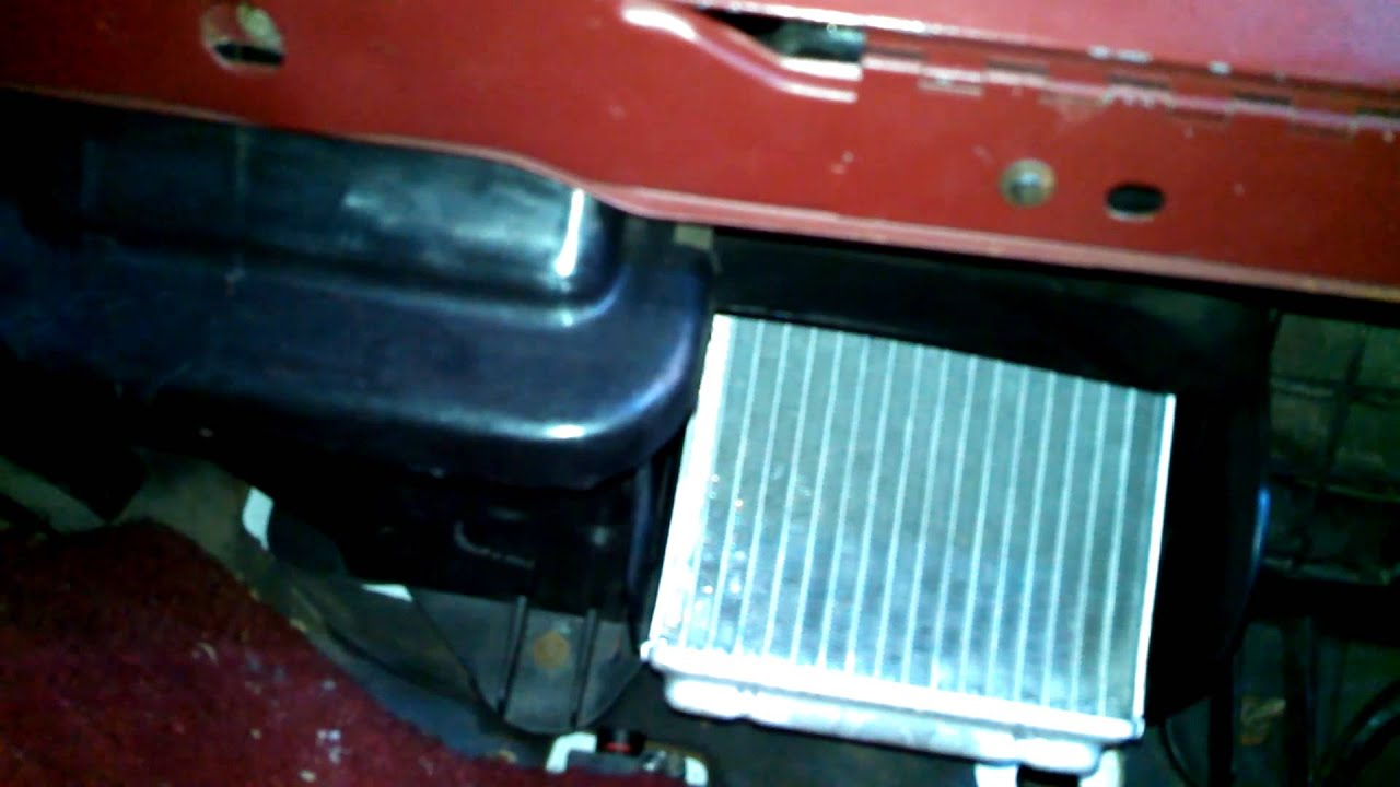 hight resolution of heater core replacement 1988 ford ranger install remove replace how to change