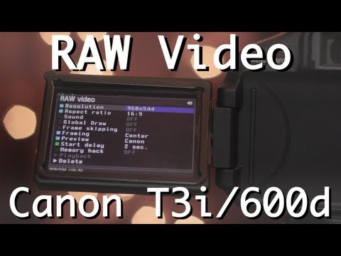 Canon T3i / 600D RAW Finally available! - IndieTalk - Indie